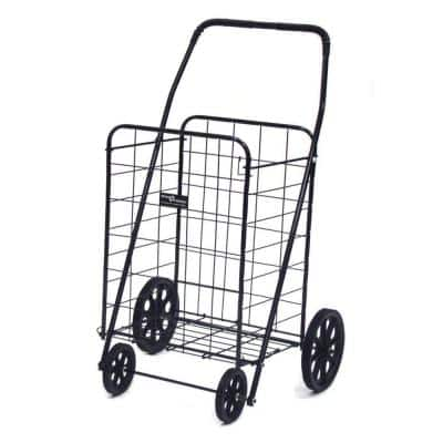 Jumbo-A Shopping Black Cart