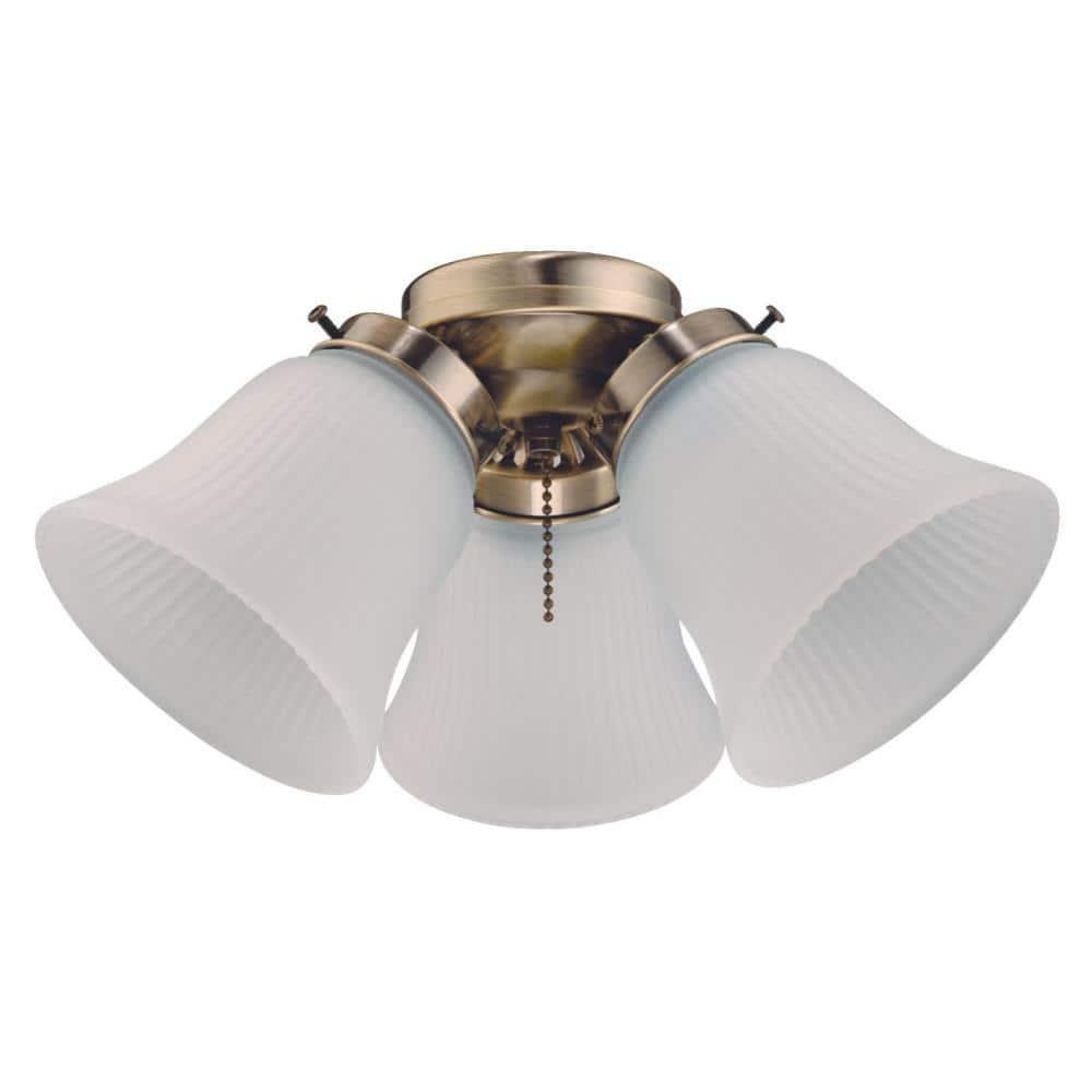 Westinghouse 3 Light Led Cluster Ceiling Fan Light Kit 7784800 The Home Depot