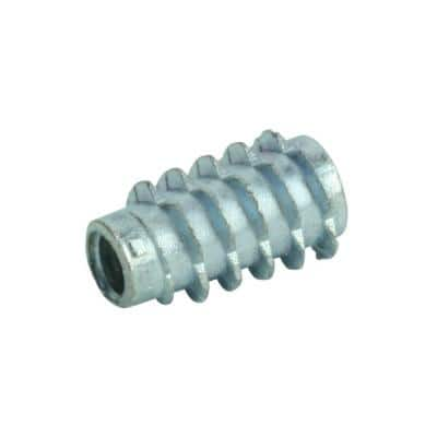 1/4 in.-20 Zinc Plated Insert Nut (4-Pack)