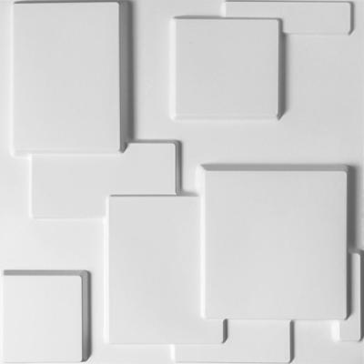 19.7 in. x 19.7 in. 3D Embossed Wall Panel for Modern Wall Decor (Set of 12)