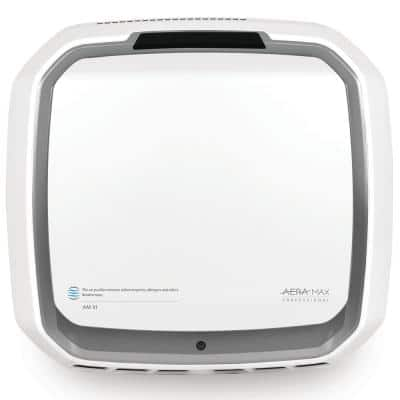 AeraMax Professional III True HEPA 700 sq. ft. Wall-Mountable Allergen Remover Stainless Air Purifier