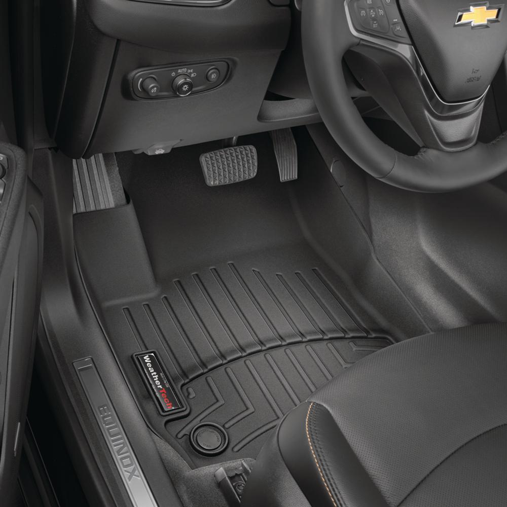 Black/Front FloorLiner/Kia/Sorento/2016 +/Automatic Transmission only