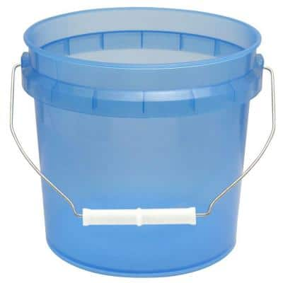 1-Gal. Blue Translucent Pail (Pack of 3)