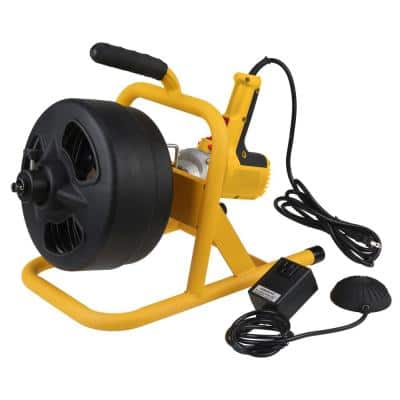 115-Volt 50 ft. Electric Auger with 5/16 in. Inner Core Cable