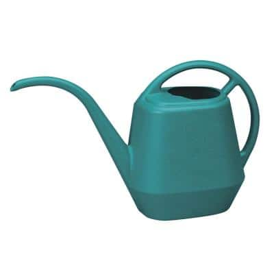 Aqua Rite 144 oz. Bermuda Teal Plastic Watering Can