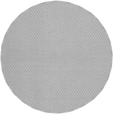 Town Square Silver 7 Ft. 6 In. Round Area Rug