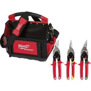 15 in. PACKOUT Tote with Aviation Snips (3-Pack)