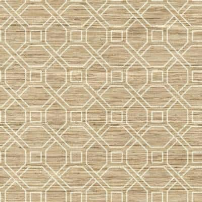 Coastal Trellis Peel and Stick Wallpaper (Covers 28.18 sq. ft.)