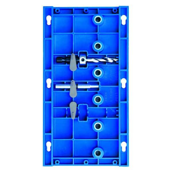 Kreg  Nylon  Shelf Pin Jig  Blue