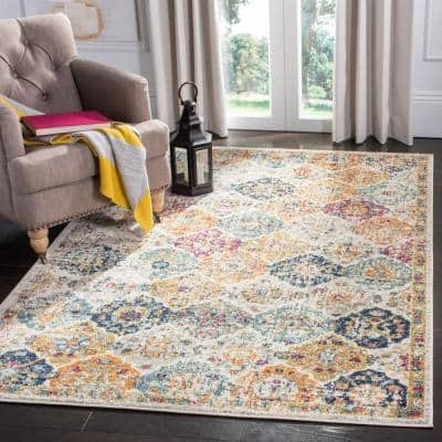 Multi Green Rugs 4x6 Ft /& 3x5 Ft Cotton Hand Woven Square Area Chindi Floor Rug
