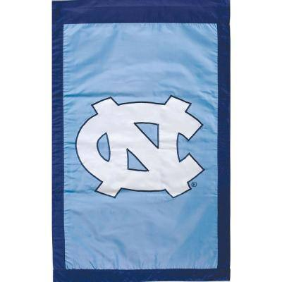NCAA 28 in. x 44 in. North Carolina 2-Sided Flag