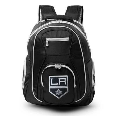 NHL Los Angeles Kings 19 in. Black Trim Color Laptop Backpack