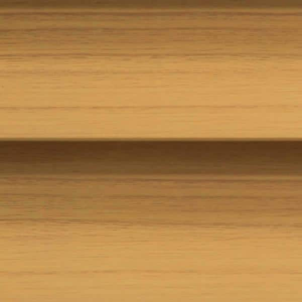 Home Decorators Collection Chestnut Cordless Room Darkening 2 5 In Premium Faux Wood Blind For Window 29 In W X 64 In L 10793478395309 The Home Depot