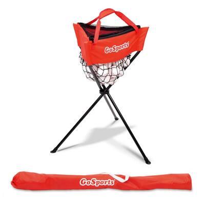Portable Baseball and Softball Ball Caddy with Carrying Bag