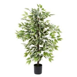 45 in. GreenFicus Tree Artificial decorative Foliage