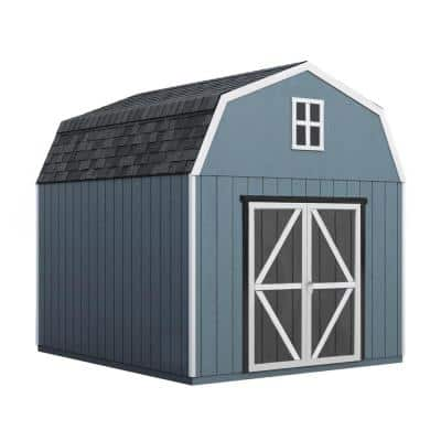 Do-it Yourself Braymore 10 ft. x 16 ft. Wooden Storage Shed for Existing Cement Pad