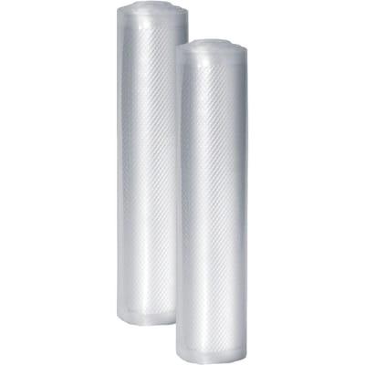 Professional 11-In. x 20-Ft. Food Vacuum Rolls, Set of 2