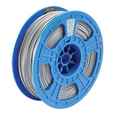 3D 0.75 kg Silver PLA Filament