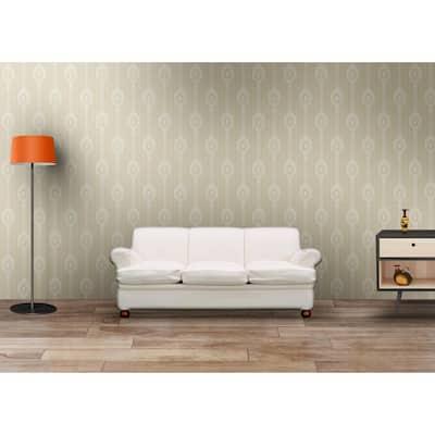 Ascot Beige Cameo Wallpaper
