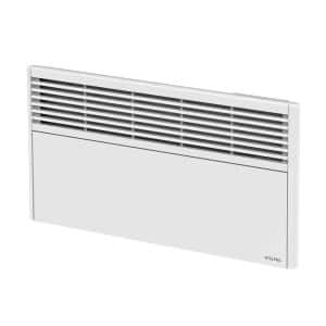 Orleans Low 38-7/8 in. x 13 in. 1500-Watt 240-Volt Forced Air Electric Convector in White without Control