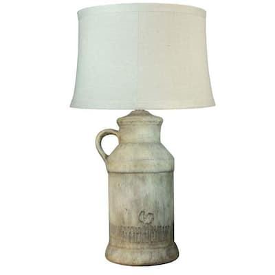 27 in. Barnyard Rooster Ceramic Table Lamp
