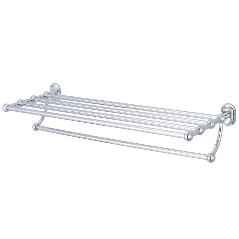 Chrome Bath Rack