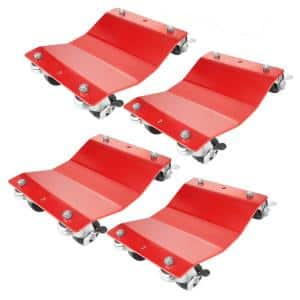 1,500 lbs. Capacity Red Premium Wheel Dolly (4-Pack)