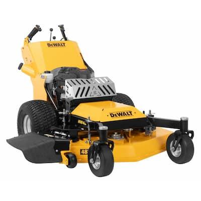HW48 Commercial 48 in. 15 HP Kawasaki V-Twin FS541v Series Engine Dual Hydro Drive Gas Walk Behind Lawn Mower