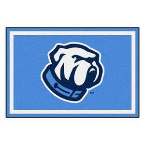NCAA - The Citadel Blue 8 ft. x 5 ft. Indoor Area Rug