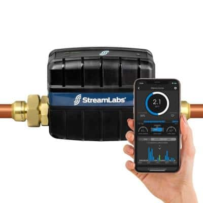 Smart Home 1 in. Water Monitor and Control System with SharkBite