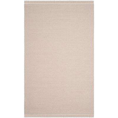 Montauk Ivory/Gray 5 ft. x 8 ft. Area Rug