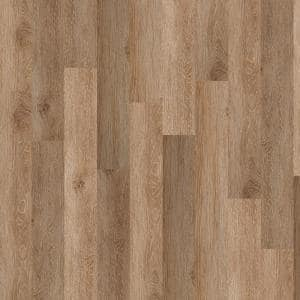 Inspiration 6 mil Mimosa 6 in. x 48 in. Glue Down Vinyl Plank Flooring (53.93 sq. ft. / case)