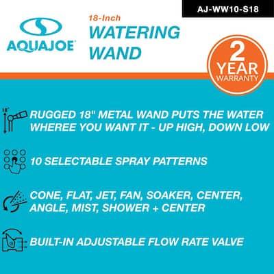 18 in. 10-Pattern Watering Wand