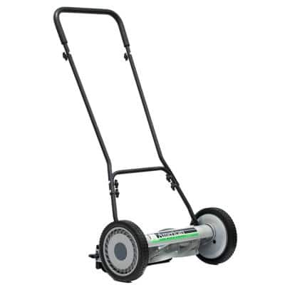 18 in. 5-Blade Manual Walk Behind Reel Lawn Mower