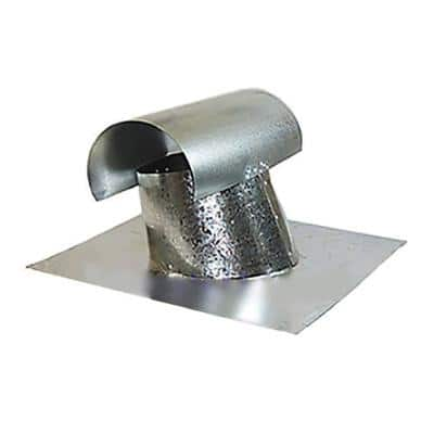 T-Top 7 in. Galvanized Steel Exhaust Vent Pipe Flashing