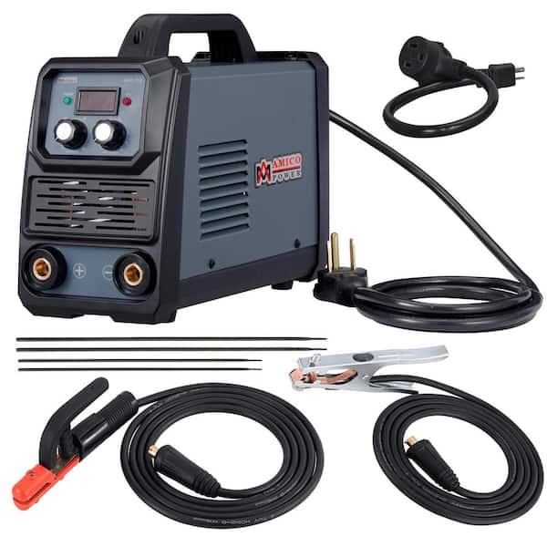 250AMP Inverter Welder IGBT Drawing ARC Welding Electric Machine AC 230V Red