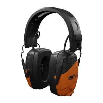 LINK Bluetooth Earmuff Hearing Protector, 24 dB Noise Reduction Rating, OSHA Compliant Ear Protection, Work Headphones