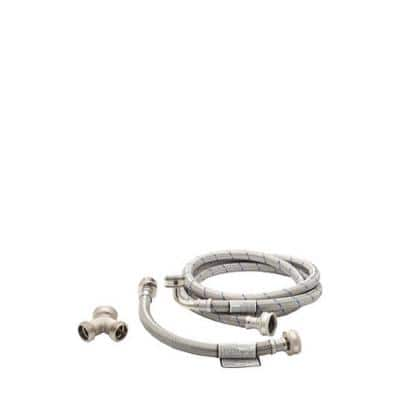 6 ft. Stainless Steel Steam Dryer Kit (Fits Most)
