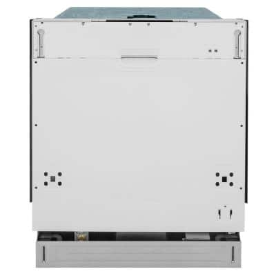 24 in. Panel Ready Top Control Dishwasher 120-Volt with Stainless Steel Tub