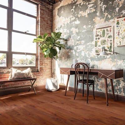 Inspiration 6 in. W Tanglewood Adhesive Luxury Vinyl Plank Flooring (53.93 sq. ft./case)