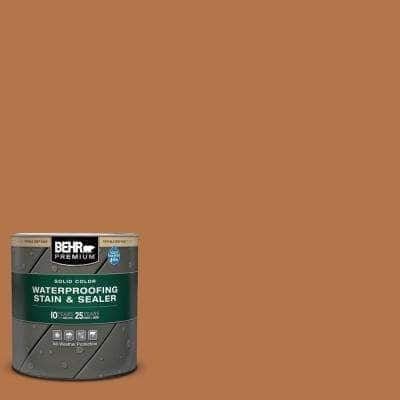 1 qt. #SC-533 Cedar Naturaltone Solid Color Waterproofing Exterior Wood Stain and Sealer