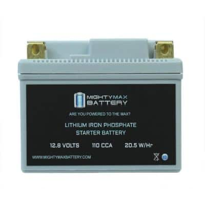 12-Volt 110 CCA Lithium Rechargeable Power Sports Battery
