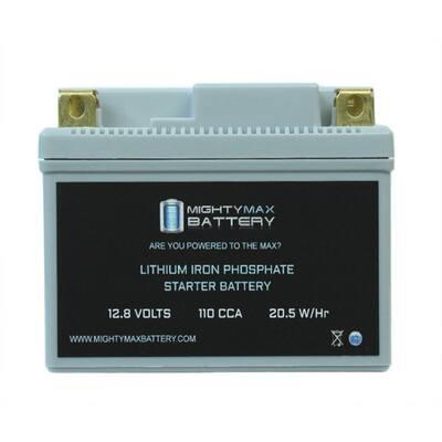 12-Volt 110 CCA Rechargeable Power Sports Battery