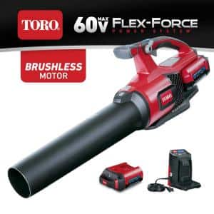 60-Volt Max Lithium-Ion Brushless Cordless 110 MPH 565 CFM Leaf Blower - 2.0 Ah Battery and Charger Included
