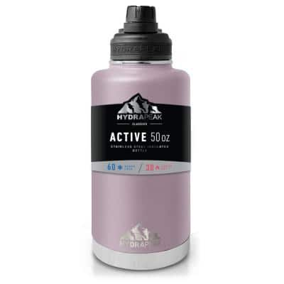 Active Chug 50 oz. Blush Triple Insulated Stainless Steel Water Bottle