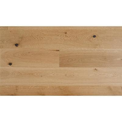 Euro White Oak Sunlight 1/2 in. Thick x 7.5 in.Wide x Varying Length Engineered Hardwood Flooring(932.7 sq. ft./pallet)