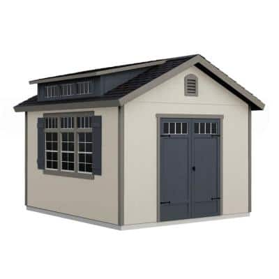Do-it Yourself Windemere 10 ft. x 12 ft. Wooden Storage Shed