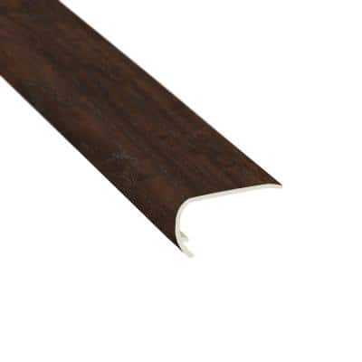 Western Hickory Saddle 3/8 in. T x 2-3/4 in. W x 78 in. L Stair Nose Molding
