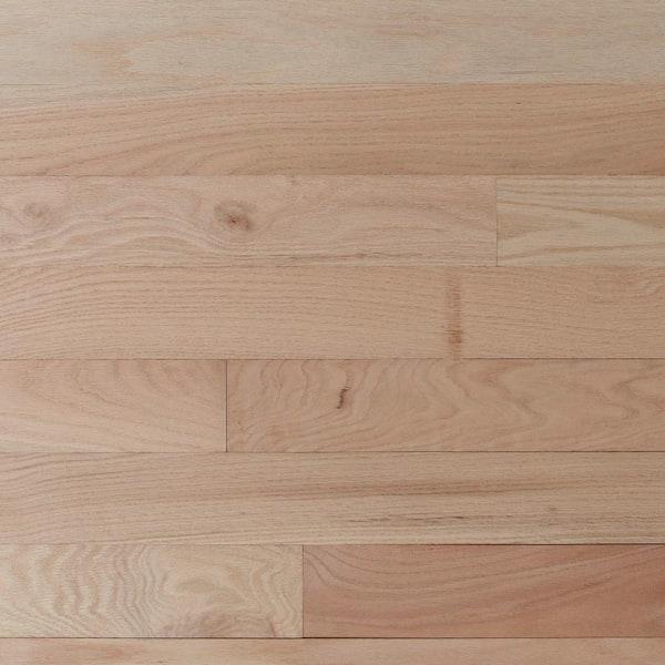 X Random Length Solid Hardwood Flooring, 1.5 Oak Flooring