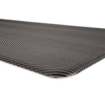 Textured 20 in. X 39 in. Gray Anti-Fatigue Mat